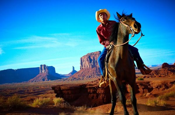 Вайоминг – родина ковбоев дикий запад