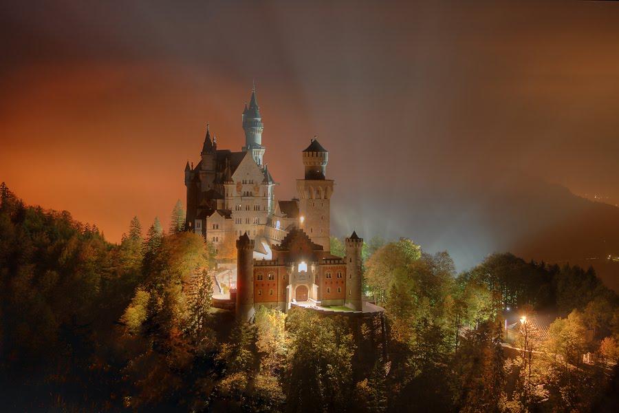 Замок нойшванштайн сокровище альп