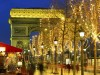 Новый год в Париже, Париж, Франция, Эйфелева башня