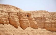 По берегу Мёртвого моря, от Кумрана до Массады. Мёртвое море. Израиль
