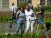 фото на фоне аранжереи, Варшава, Дворец Вилянув